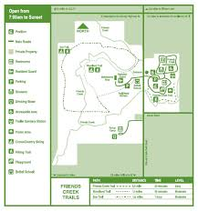 Illinois Prairie Path Map by Friends Creek Conservation Area Macon County Conservation District