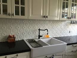 Best Tin Tile Backsplash Ideas On Pinterest Ceiling Tiles - White tin backsplash