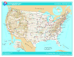 Big Map Of The United States by Large Administrative And Topographical Map Of The Usa The Usa