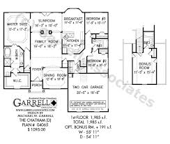 Sunroom Floor Plans by Chatham D House Plan Active House Plans