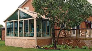 Screen Porch Roof by Sunrooms With Gable Roofs Photo Gallery Patio Enclosures