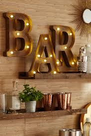 Metal Decorative Letters Home Decor Best 25 Light Letters Ideas On Pinterest Diy Room Ideas
