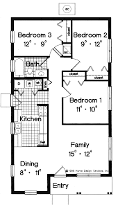 Floor Plan House 3 Bedroom Simple Small House Floor Plans House Plans Pricing Small Floor