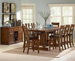steve silver zappa zp500 dining set furniture depot red bluff
