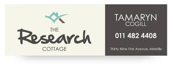 Southern African Marketing Research Association  SAMRA      Page       Southern African Marketing Research Association Our venue  Research Cottage in Melville  Johannesburg  is for sale  We would love to see it go to someone in the database that will continue to run it as