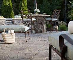 How To Seal A Paver Patio by Pavers Vs Concrete Cost Comparison Guide Install It Direct