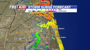 Map Of Jupiter Florida Florida Governor Don U0027t Take A Chances Evacuate Now Wjax Tv