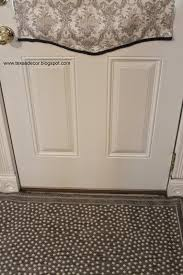 texas decor new backdoor diy roman shade and 14 ballard rug