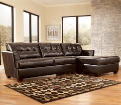 Ashley Furniture Couches Dixon Durablend Chocolate Sectional Sofa By Signature Design By