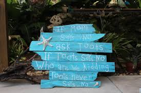 Outdoor Nautical Decor by Pallet Art Quotes Nautical Decor Outdoor Beach Signs Home