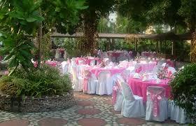 pink white wedding reception decorations garden wedding