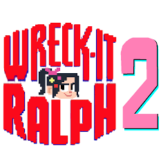 image wreck ralph 2 logo 2 png fan fiction fandom powered