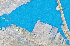 Hamilton Canada Map Hamilton Harbour Map Hamilton Ontario Pinterest Ontario