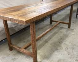 8 Foot Desk by Reclaimed Wood Desk Top Legs Not Included For This Listing