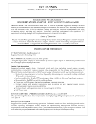 Chief Accountant Resume Sample Senior Accountant Resume Free Resume Example And Writing Download