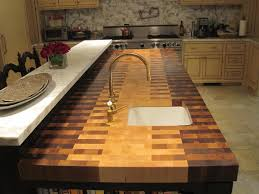 diy butcher block kitchen countertops designs