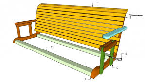 build a wooden porch swing with these free plans free porch swing