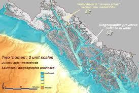 Juneau Alaska Map by Places