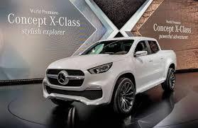 official mercedes benz concept x class gtspirit