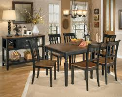 Ashley Furniture Dining Room Chairs Signature Design By Ashley Owingsville 7 Piece Rectangular Dining