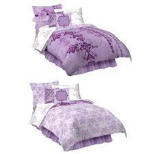 Girls Bedding Full by Purple Girls Comforter Bedding Set In Twin Or Full Sizes
