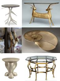 animal instincts interior design center of st louis mo 1 ibis table lamp 2 octopus end table 3 emilio accent table 4 night birds by boris klimek for brokis lighting 5 arteriors mosquito bench