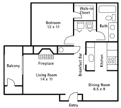Sunroom Floor Plans by 1 Bedroom 700 Sq Ft House Plans Expand Kitchen Into Dining Room