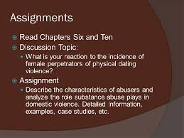 Unit Six  Seminar Outline     Teen Violence     Determining the