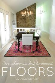 Floor And Home Decor Livelovediy Our New White Washed Hardwood Flooring And Why We