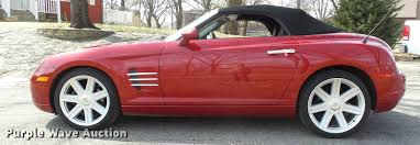 2005 chrysler crossfire convertible item db3845 sold ap