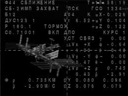 soyuz spacecraft docked with iss the promisse mission
