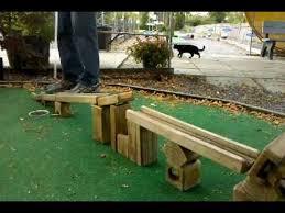 Backyard Golf Hole by Custom Made Mini Golf Hole Youtube
