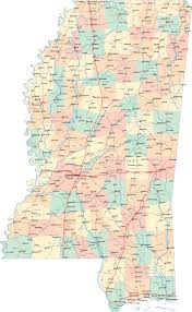Map Of Cities In Usa by Map Of Mississippi Cities