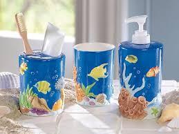 Tropical Themed Bathroom Ideas Captivating Fish Themed Bathroom Accessories Marvelous Bathroom