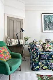 Green Sofa Living Room Ideas Best 25 Floral Couch Ideas On Pinterest Wall Murals Uk Floral