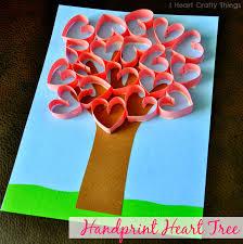 16 valentines day hand art crafts for kids u0026 tgif