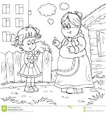 granny and granddaughter stock images image 14976164