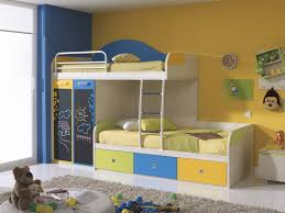 Bay Window Desk Bunk Beds Spectacular Modern Kid Bunk Bed Set Near Bay Window