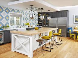 California Kitchen Design by Interesting 30 Blue Yellow Kitchen Decorating Ideas Inspiration