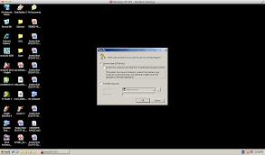 first run initialization