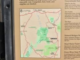 Canyonlands National Park Map Grandpa Bill And Black Beauty Travel Canyonlands National Park