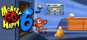 Spille Monkey Go Happy 6 Spill
