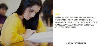 Custom Essay Writing Help Online