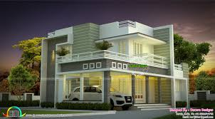 beautiful modern house architecture kerala home design and floor