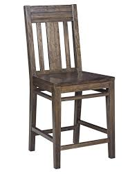 Wood Slat by Contemporary Solid Wood Slat Back Bar Stool By Kincaid Furniture