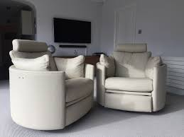 Rocking Chair Recliners Twice As Much Fun These Two Contemporary Electric Recliner