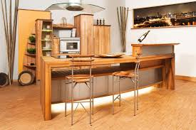 Kitchen Design Rustic by Rustic Modern Open Kitchen Design With Wooden Cabinet And Kitchen