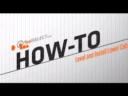 How To Level Kitchen Cabinets Kitchen Remodel How To Install And Level Cabinets Youtube