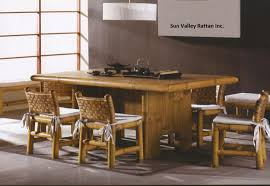 Bamboo Dining Room Furniture by Bamboo Furniture