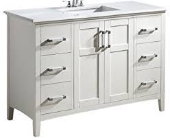 Bathroom Vanity With Tops by Simpli Home Winston 48